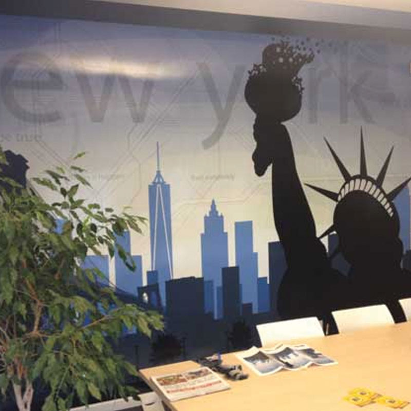 Wall mural show Statue of Liberty